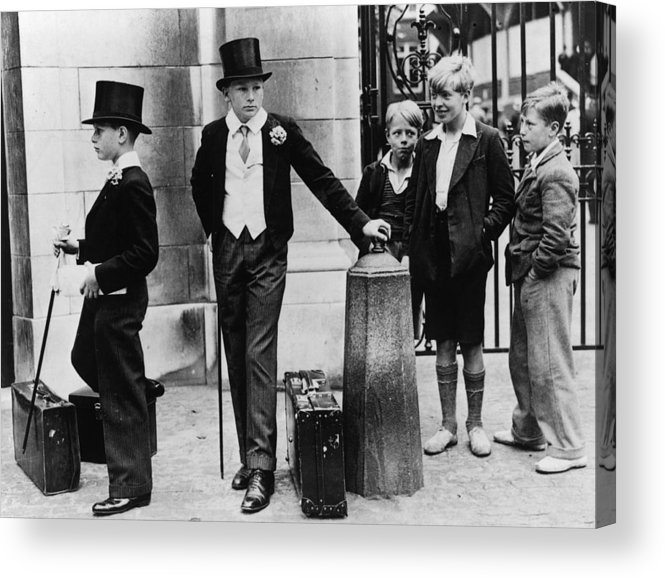 Education Acrylic Print featuring the photograph Toffs And Toughs by Jimmy Sime