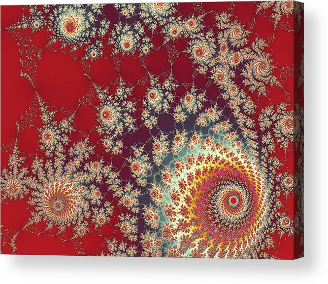 Art Acrylic Print featuring the digital art Unity by Ester McGuire