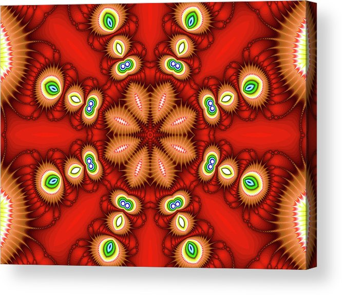 Art Acrylic Print featuring the photograph Watcher's Eyes by Ester McGuire