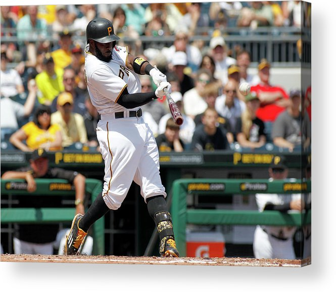 People Acrylic Print featuring the photograph Josh Harrison by Justin K. Aller
