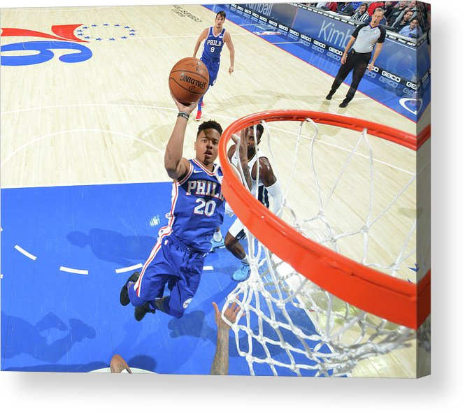 Sports Ball Acrylic Print featuring the photograph Markelle Fultz by Jesse D. Garrabrant
