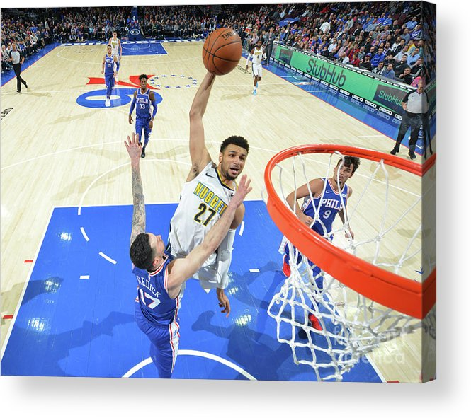 Sports Ball Acrylic Print featuring the photograph Jamal Murray by Jesse D. Garrabrant
