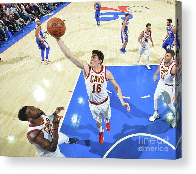 Nba Pro Basketball Acrylic Print featuring the photograph Cedi Osman by Jesse D. Garrabrant