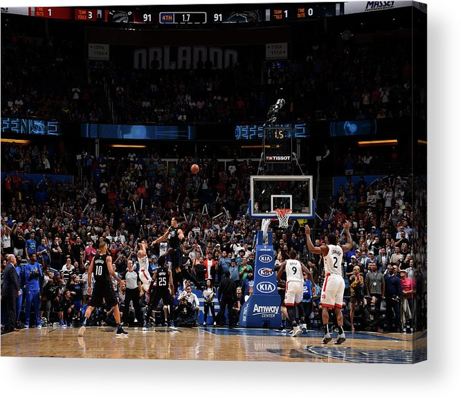 Nba Pro Basketball Acrylic Print featuring the photograph Danny Green by Gary Bassing