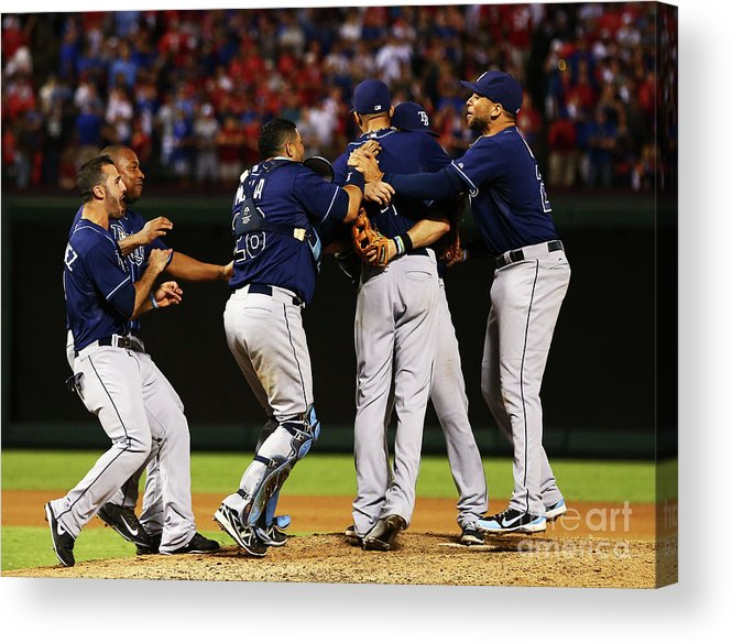 David Price Acrylic Print featuring the photograph David Price by Tom Pennington