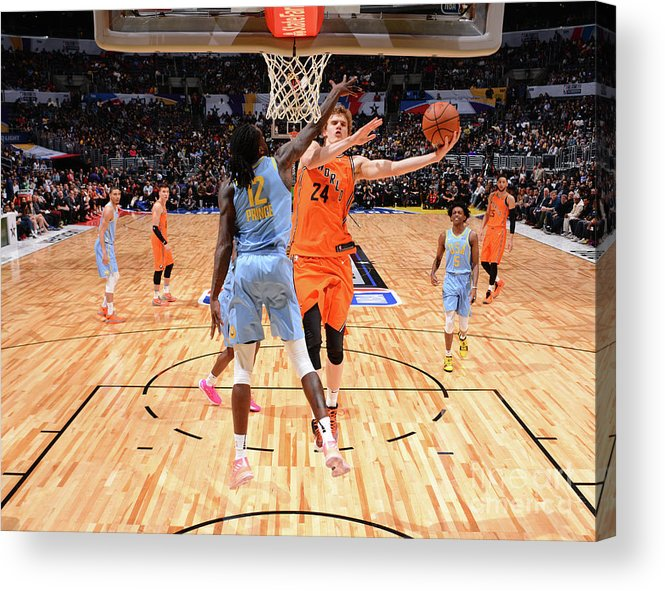Event Acrylic Print featuring the photograph Dillon Brooks by Jesse D. Garrabrant
