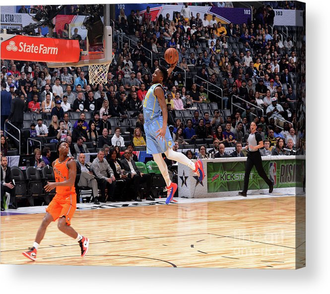 Event Acrylic Print featuring the photograph Donovan Mitchell by Jesse D. Garrabrant