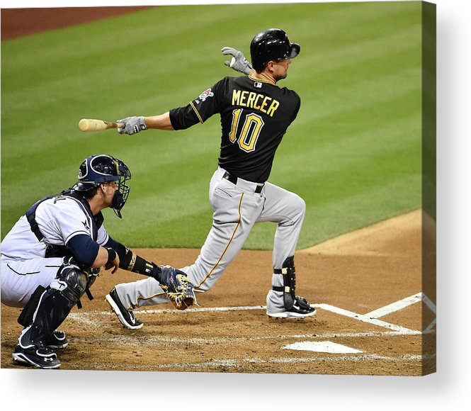 California Acrylic Print featuring the photograph Jordy Mercer by Denis Poroy