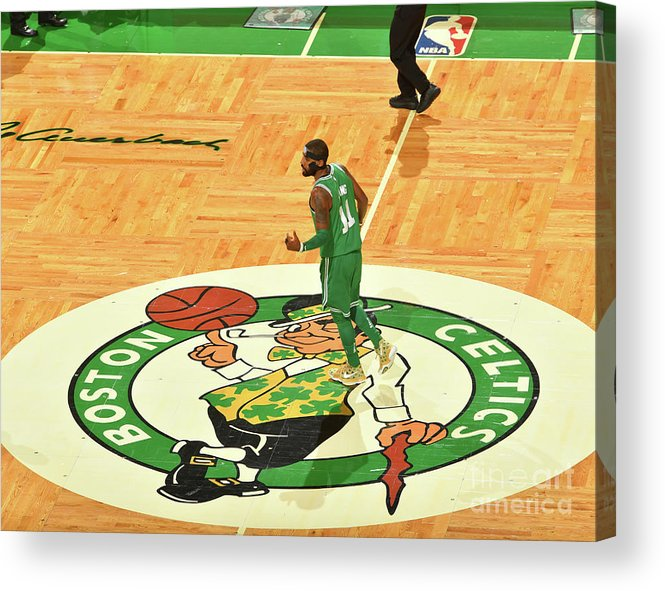 Nba Pro Basketball Acrylic Print featuring the photograph Kyrie Irving by Jesse D. Garrabrant