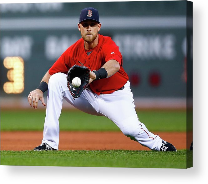 American League Baseball Acrylic Print featuring the photograph Wills by Jared Wickerham