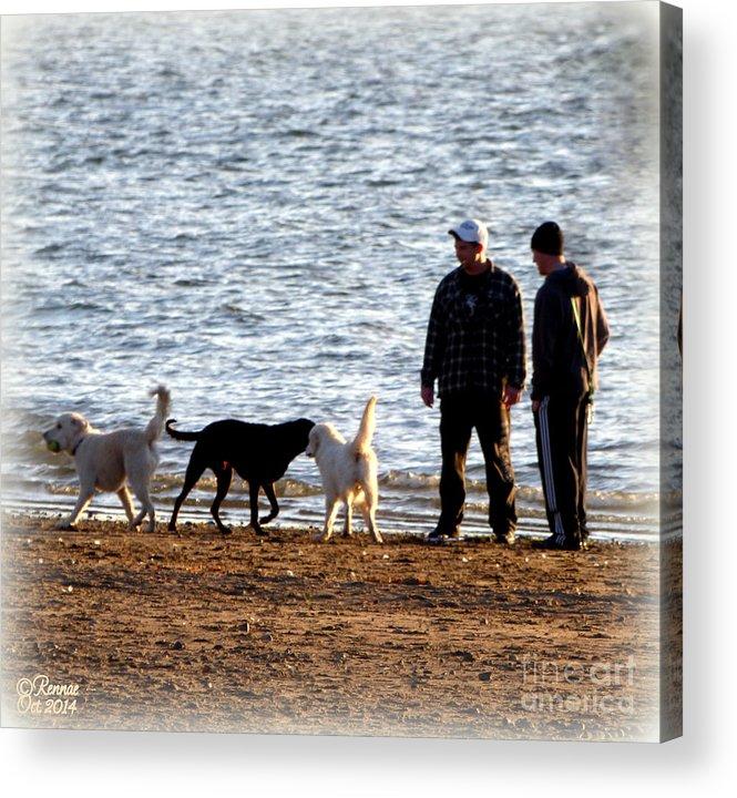 Lake Acrylic Print featuring the photograph Delta Lake Beach by Rennae Christman