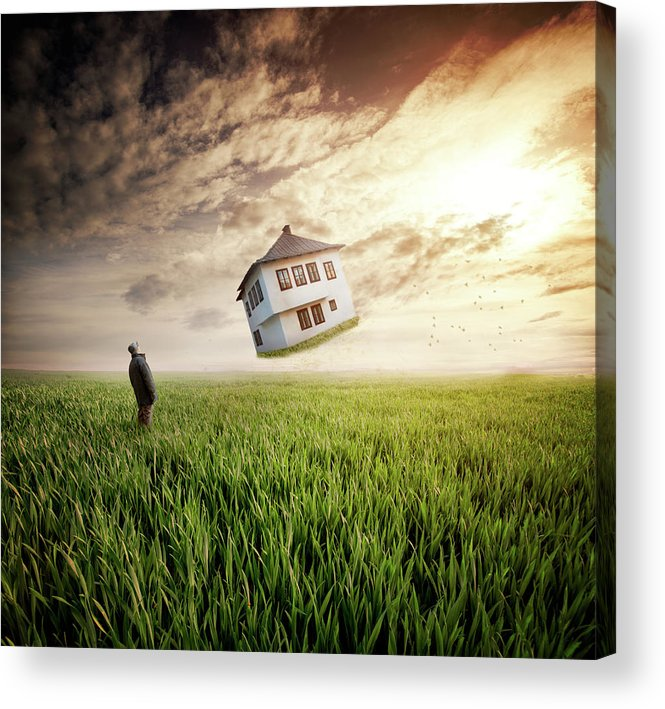 Man Acrylic Print featuring the photograph Dream About Home by Nermin Smaji?