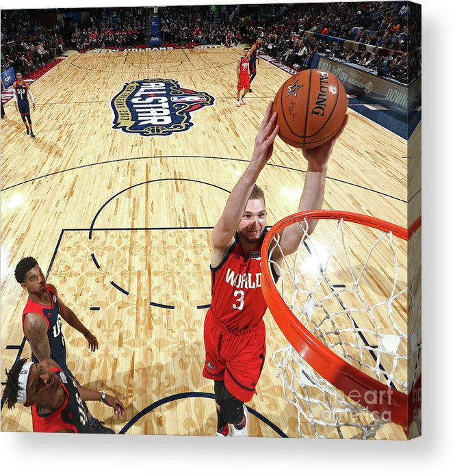 Event Acrylic Print featuring the photograph Domantas Sabonis by Nathaniel S. Butler