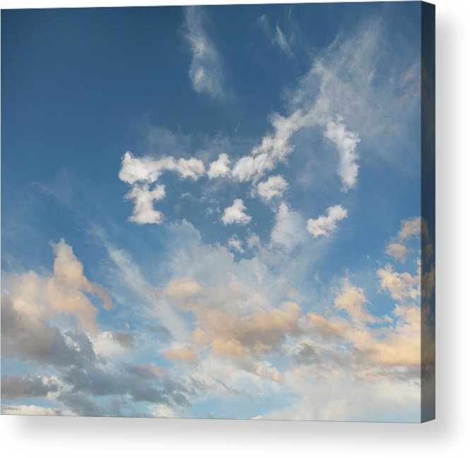 California Acrylic Print featuring the photograph The Key To Cloud Computing by John Lund