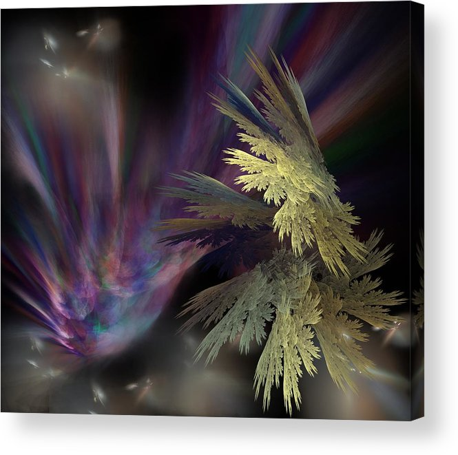 Fantasy Acrylic Print featuring the digital art Untitled 12-05-09 by David Lane
