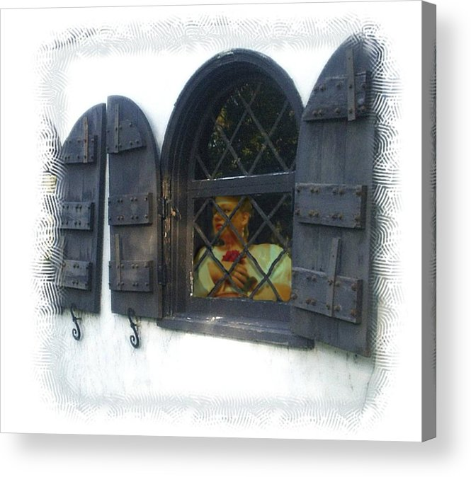 Window Acrylic Print featuring the photograph Waiting for You by Scarlett Royal
