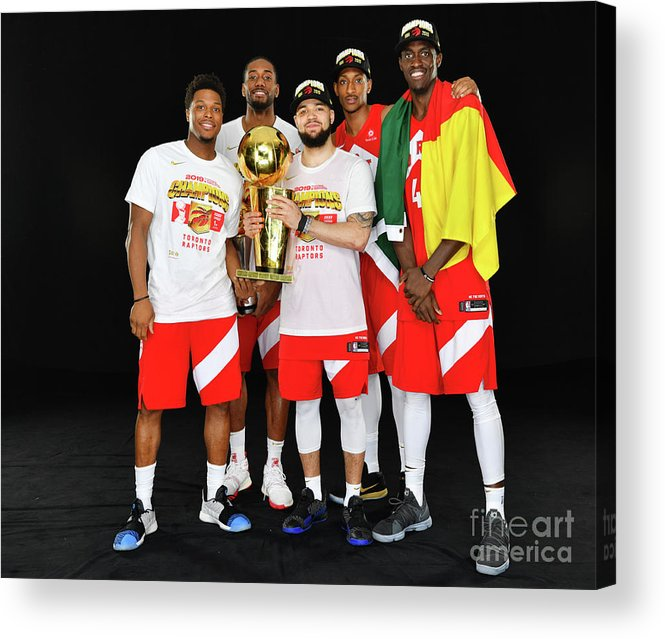 Playoffs Acrylic Print featuring the photograph 2019 Nba Finals Portraits by Jesse D. Garrabrant