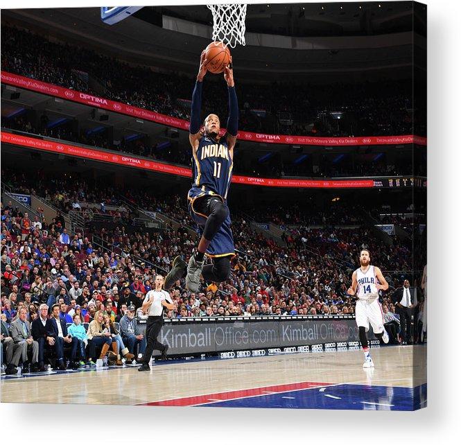 Nba Pro Basketball Acrylic Print featuring the photograph Monta Ellis by Jesse D. Garrabrant