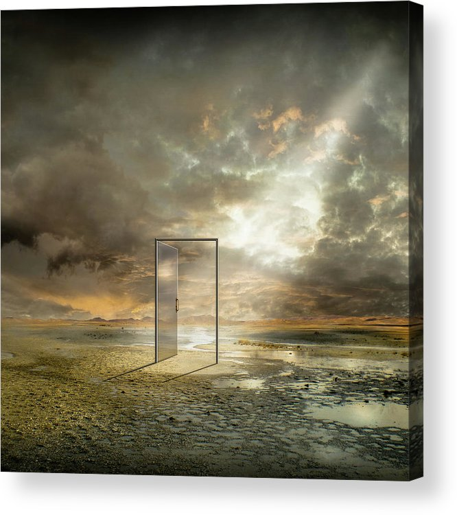 Surreal Acrylic Print featuring the photograph | Behind The Reality | by Franziskus Pfleghart