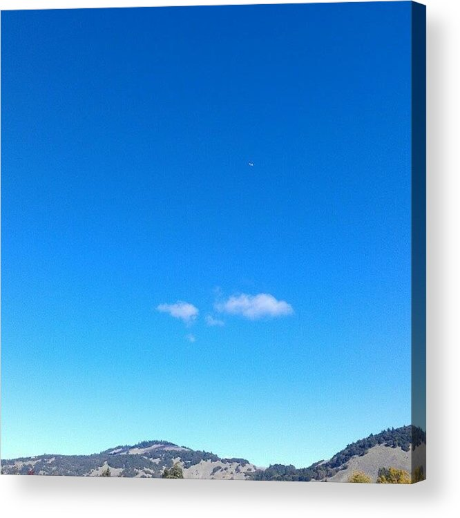 Sky Acrylic Print featuring the photograph Big Sky Valley by CML Brown