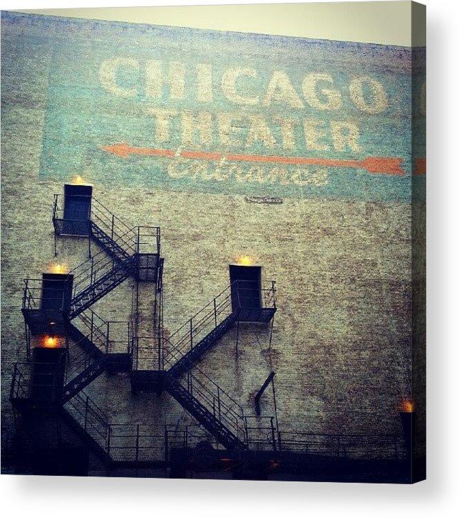 Chicago Acrylic Print featuring the photograph Discovering Ghosts In Back Alleyways by Jill Tuinier