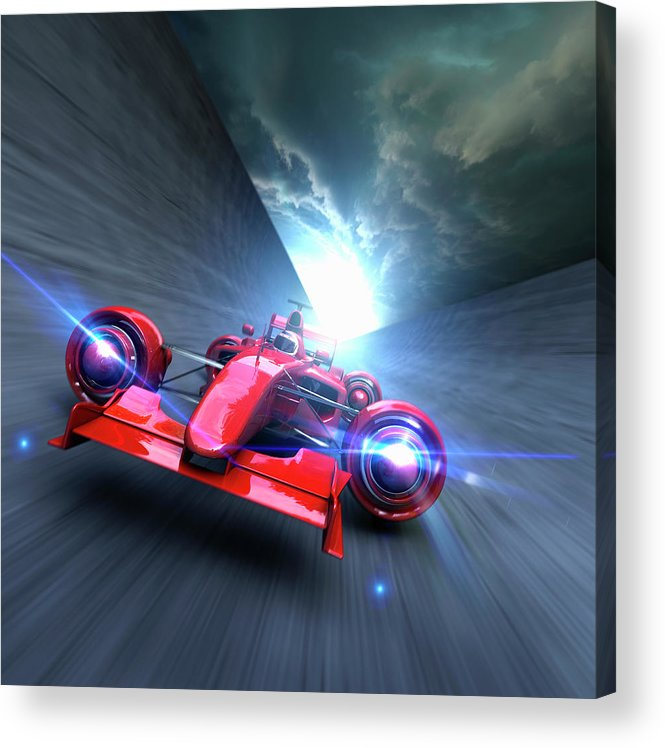 People Acrylic Print featuring the photograph Extreme High Performance by Colin Anderson
