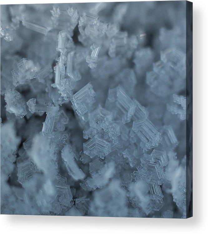 Frozen Acrylic Print featuring the photograph Frozen 2 by Illusorium Illustration