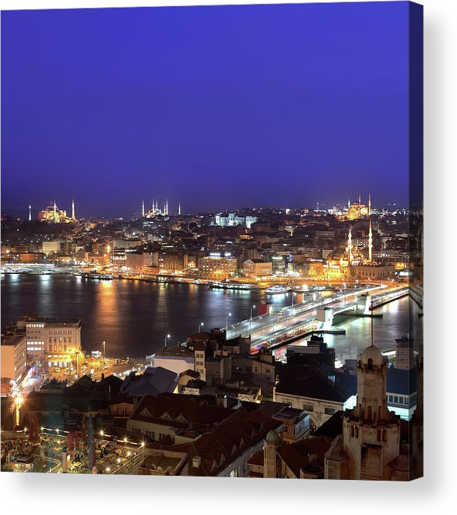 Istanbul Acrylic Print featuring the photograph Istanbul by Tolga Tezcan