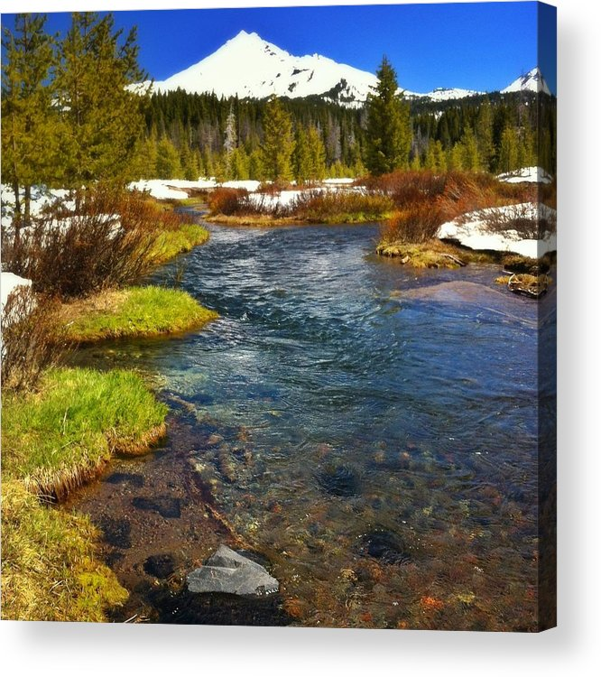 Scenics Acrylic Print featuring the photograph Mountain Creek by Andipantz