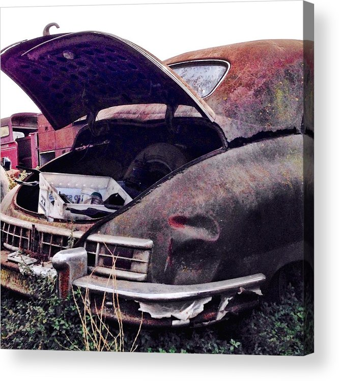 Classic Car Acrylic Print featuring the photograph Old Car by Julie Gebhardt