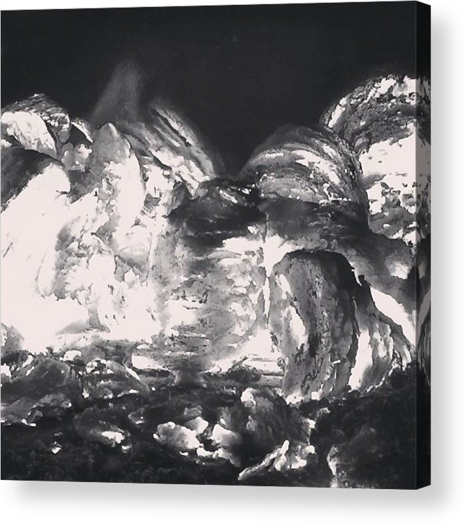 Fire Acrylic Print featuring the photograph On Fire by Illusorium Illustration