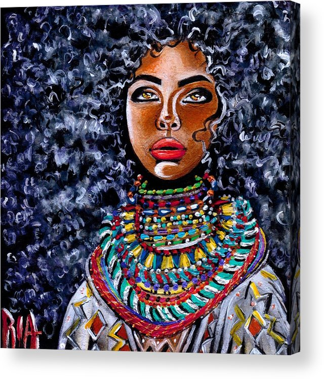 Artbyria Acrylic Print featuring the photograph Untamed Beauty by Artist RiA