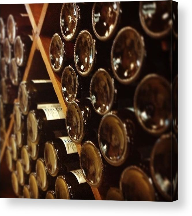 Wine Acrylic Print featuring the photograph Wine Tour by Christy Beckwith