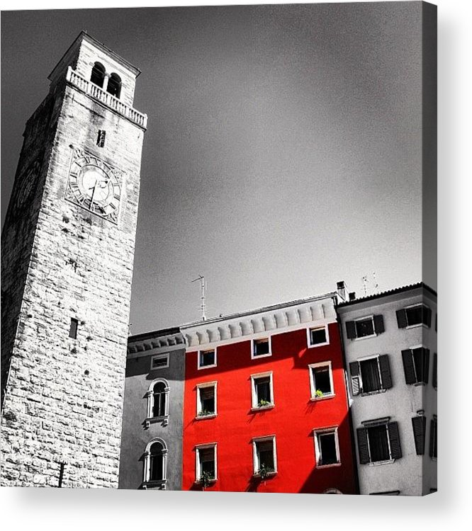 City Acrylic Print featuring the photograph Red House by Luisa Azzolini