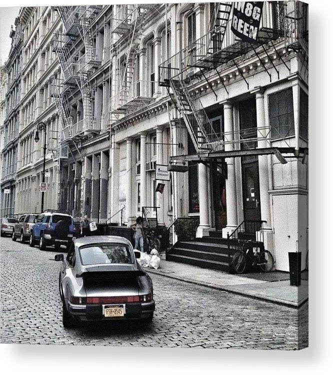 Summer Acrylic Print featuring the photograph European Design by Randy Lemoine