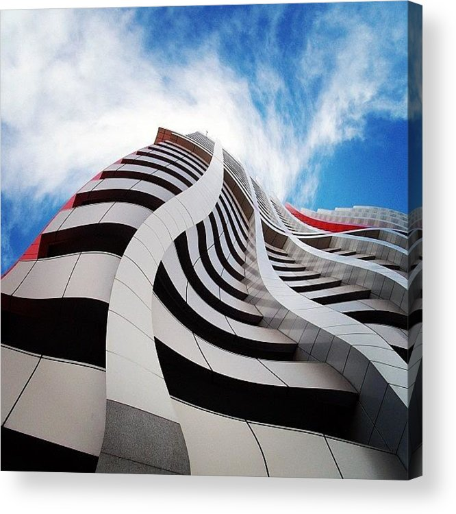 Building Acrylic Print featuring the photograph Extrude by Cameron Bentley