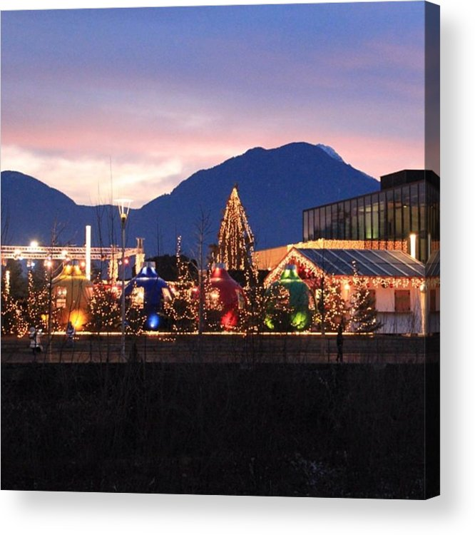 Lights Acrylic Print featuring the photograph Instagram Photo by Luisa Azzolini