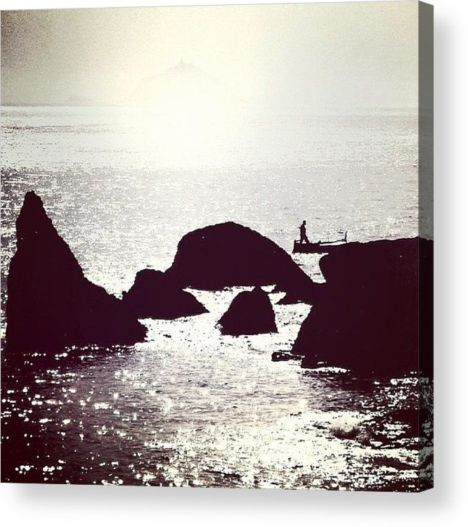 Float Acrylic Print featuring the photograph Life By The Seaside #sea #light #italy by A Rey