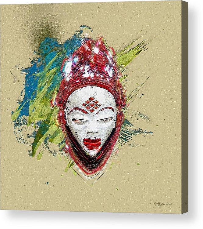 Star Spirits By Serge Averbukh Acrylic Print featuring the photograph Star Spirits - Maiden Spirit Mukudji by Serge Averbukh