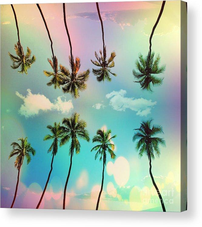 Venice Beach Acrylic Print featuring the digital art Florida by Mark Ashkenazi