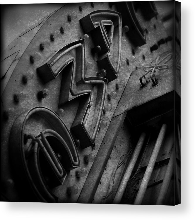 Theater Acrylic Print featuring the photograph Cameo Theatre Los Angeles by K Randall Wilcox