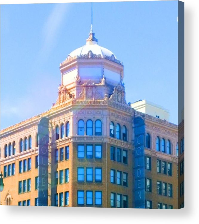 Urban Acrylic Print featuring the photograph Every Tuesday, I See The by Shari Warren