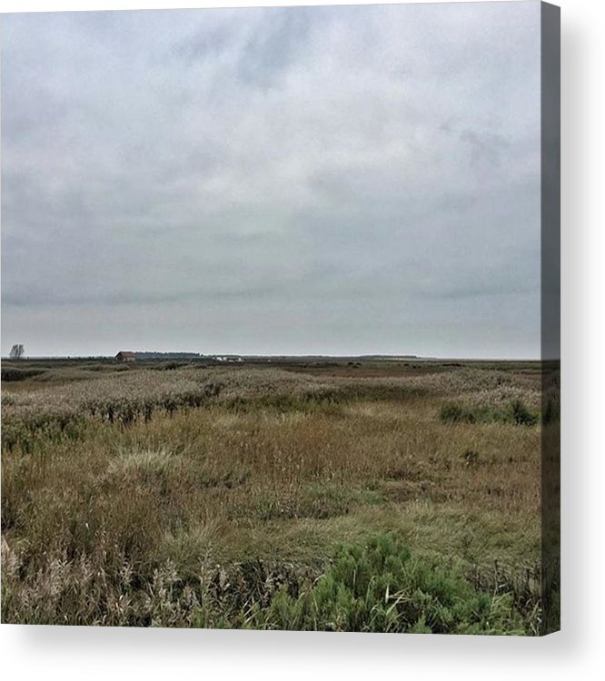 Natureonly Acrylic Print featuring the photograph It's A Grey Day In North Norfolk Today by John Edwards