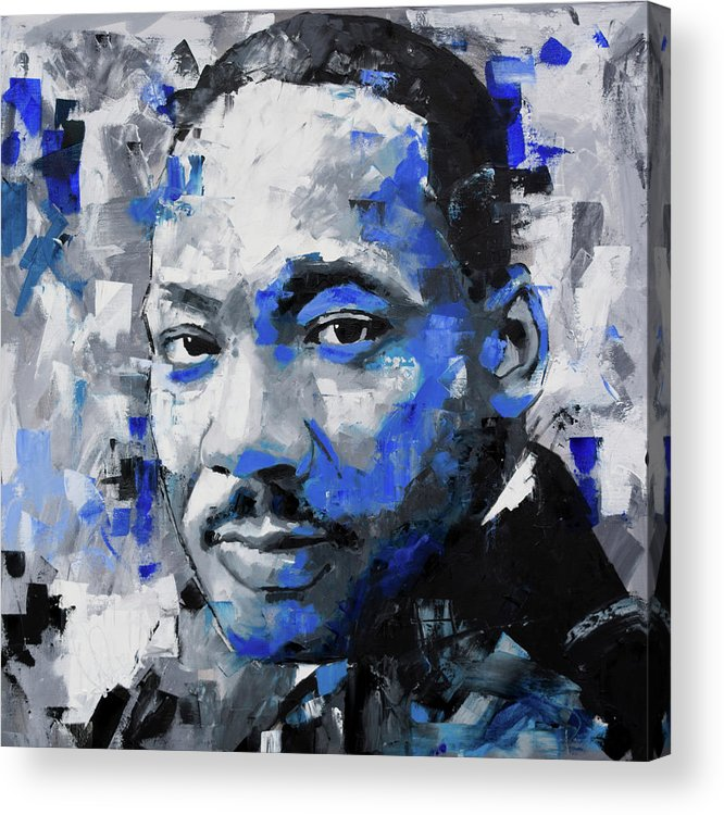 Martin Luther King Famous #2 Poster Canvas Print Art Decor Wall