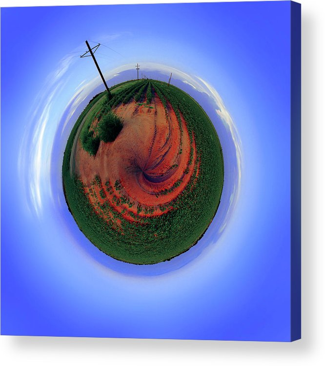 West Texas Acrylic Print featuring the photograph Planet West Texas by Robert Hudnall