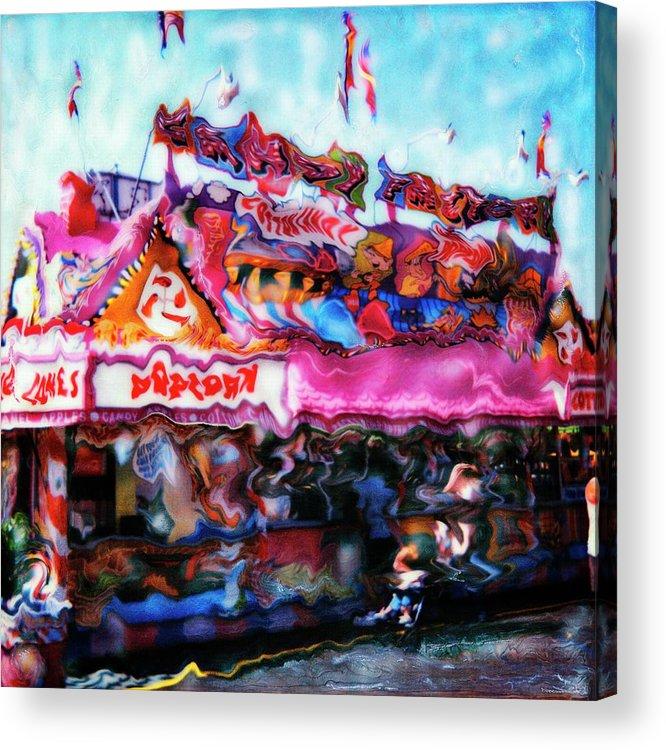 Paul Tokarski Acrylic Print featuring the photograph Popcorn House by Paul Tokarski