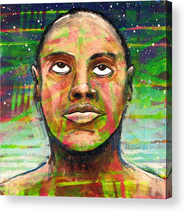 Acrylic Print featuring the painting Simply Amazing by Rollin Kocsis