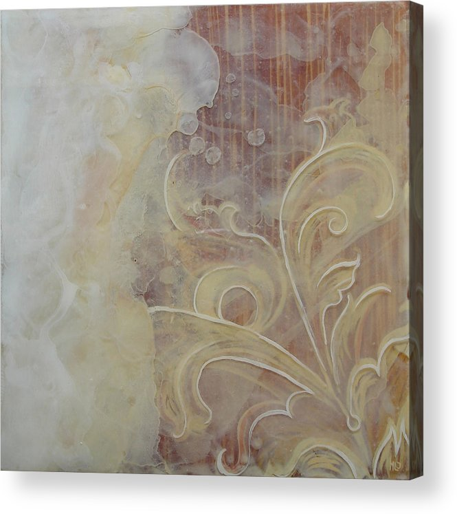 African American History Acrylic Print featuring the mixed media Summer Breeze by Monica James