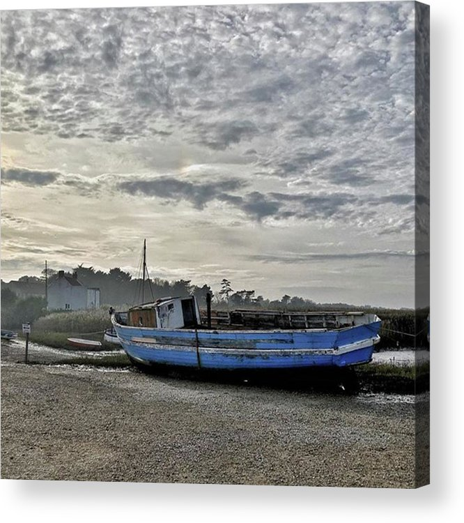 Beautiful Acrylic Print featuring the photograph The Fixer-upper, Brancaster Staithe by John Edwards