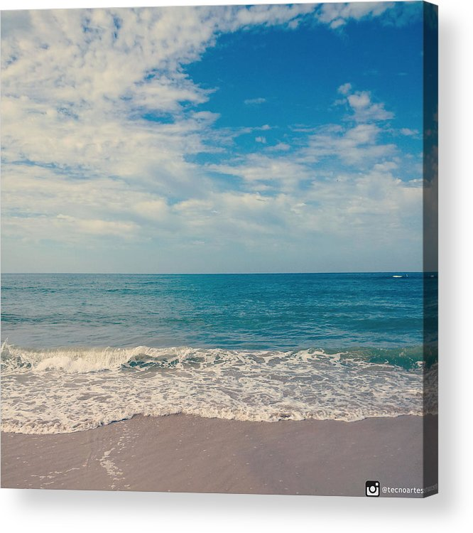 Shore Acrylic Print featuring the photograph Vintage shore by Miguel Angel